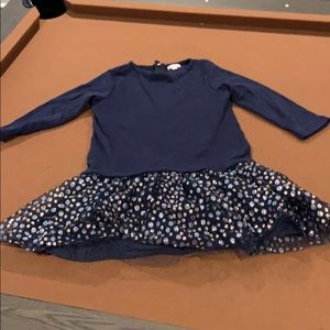 Crewcuts Long sleeve Blue Dress